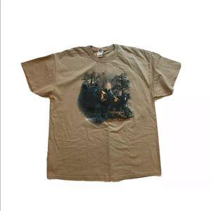 """Polar Graphic USA """"Gardner"""" Black Bears T-Shirt"""